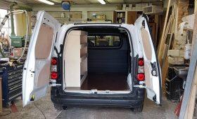 Aménagement sur mesure de véhicules utilitaires