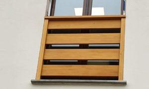 Fabrication et pose d'un balustre en bois