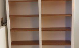 Réalisation d'une bibliothèque en bois