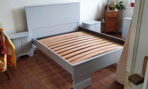 Rénovation mobilier de chambre à coucher : après travaux