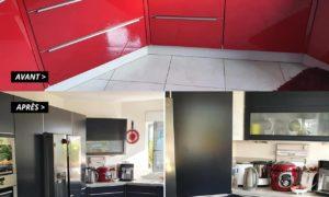 Dépose et repose d'une cuisine pour rénovation